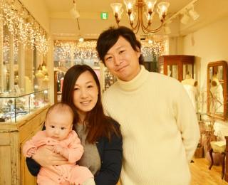 ジャンティールスタッフブログ「家族みんなの誕生石が付いたベビーリング」
