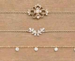 ジャンティールスタッフブログ「手元を涼しげに見せるブレスレット -アベリダイヤモンドブレスレット-」