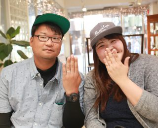 ジャンティールスタッフブログ「結婚指輪と重ね付けできるペアリング」