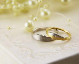 ジャンティールスタッフブログ「お山型の結婚指輪」