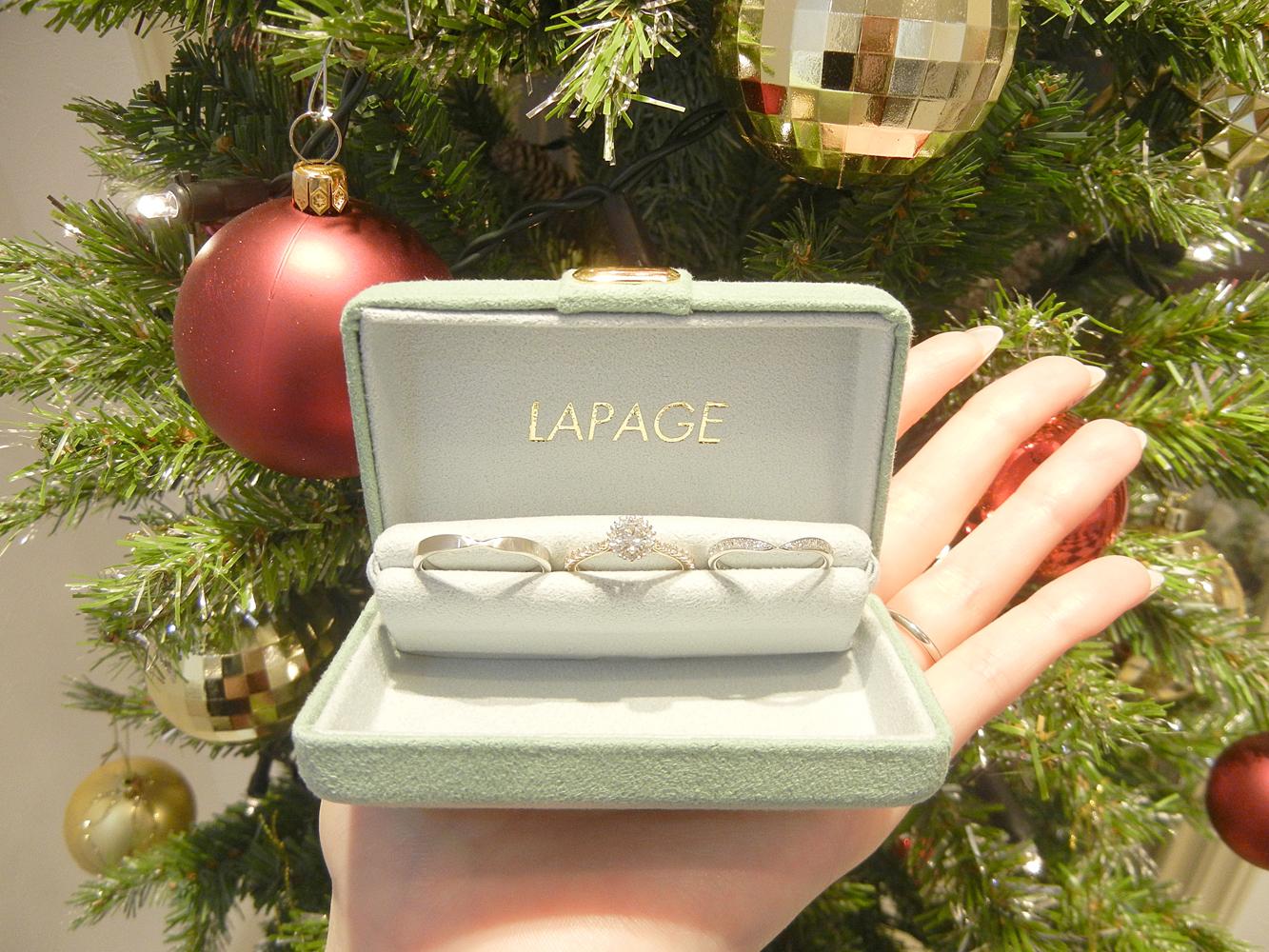 ジャンティールスタッフブログ「LAPAGE ブライダルフェアのお知らせ⭐️」