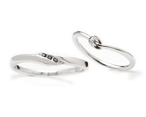 文つなぎ[結婚指輪]