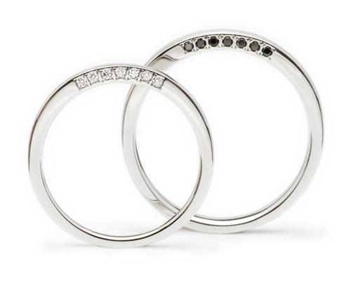扇(おうぎ)<br>[結婚指輪]