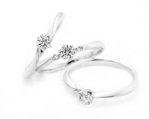 ブライダルリング:ラザールダイヤモンド