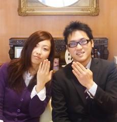 ラパージュの結婚指輪をお選びに