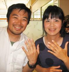 金澤指輪物語のブライダルリングをお求めいただきました