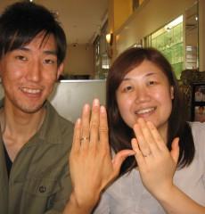 金沢指輪物語ご成約いただいたカップル