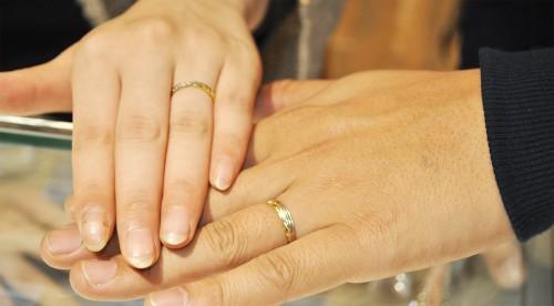 結婚指輪|幸せカップル