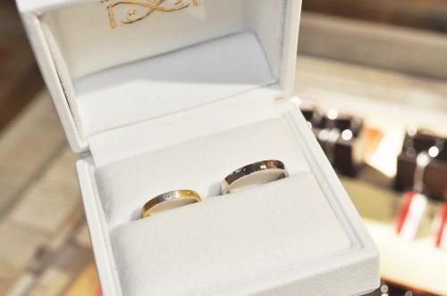 オーロラグラン|結婚指輪