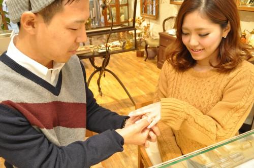 幸せカップル|結婚指輪|婚約指輪|マリッジリング|エンゲーリジング