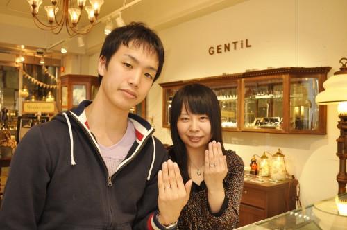 幸せカップル|結婚指輪|婚約指輪|ブライダルリング