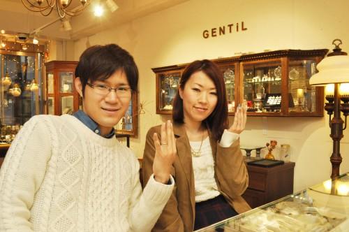幸せカップル|結婚指輪|婚約指輪|エンゲージリング|マリッジリング
