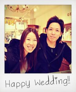 幸せカップル|マリッジリング|結婚指輪