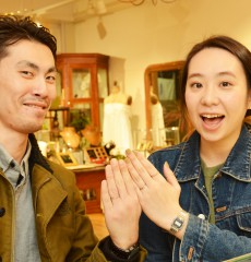 幸せカップル|結婚指輪|マリッジリング