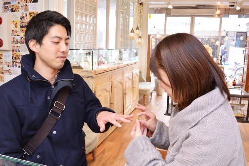 幸せカップル|結婚指輪|マリッジリング|ブライダルリング