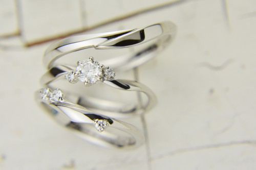 LAPAGE|ラパージュ|マリッジリング|エンゲージリング|結婚指輪|婚約指輪|トレフル|シロツメクサ