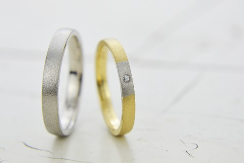 オーロラグラン|結婚指輪|ナディア