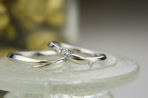 LAPAGE(ラパージュ)|シロツメクサ|結婚指輪