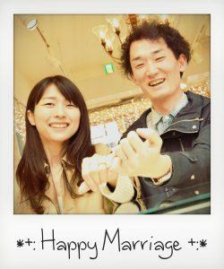 ハッピーカップル|結婚指輪